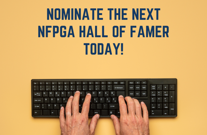 Nominating an NFPGA Professional for the NFPGA Hall of Fame