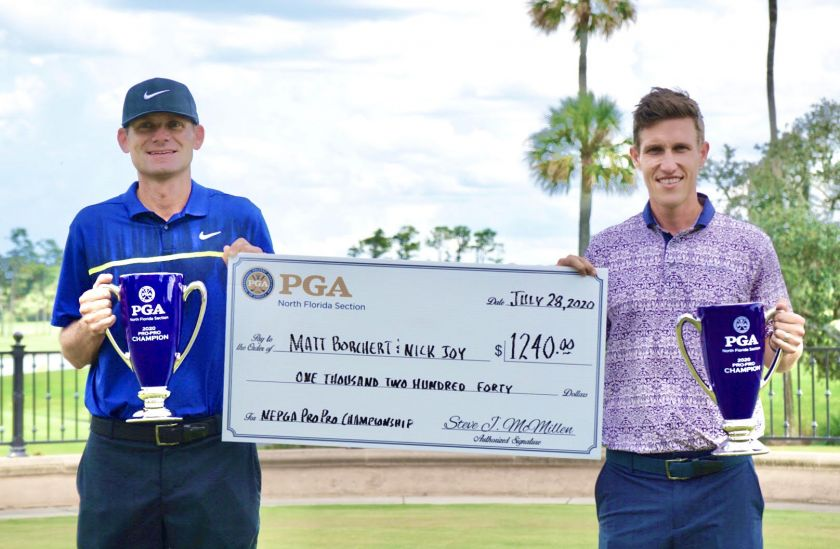 Matt Borchert & Nick Joy Win the NFPGA Pro-Pro Championship!